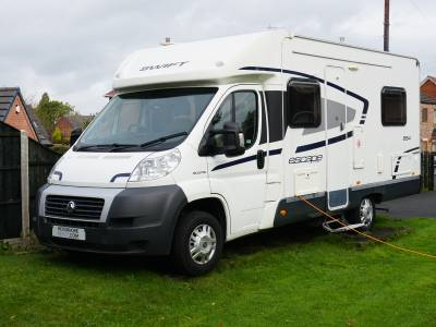 Swift Escape 664 Low-profile Rear fixed bed 4 berth motorhome for sale