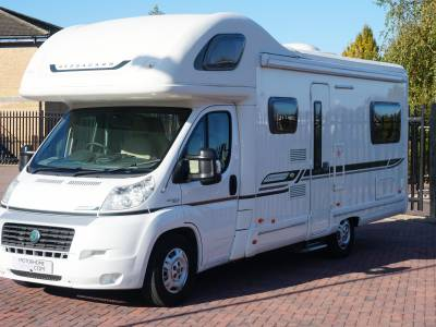 Bessacarr E495 6 berth Rear U Shaped lounge motorhome for sale