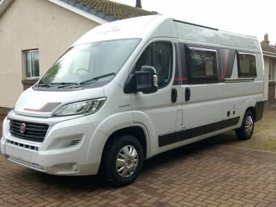 2019 RollerTeam Toleno L end lounge 6m van conversion