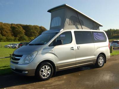 2008 Hyundai i800 2 berth Camervan conversion