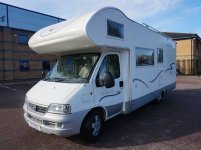 Mobilvetta Topdriver S71 7 berth Rear Bunk beds motorhome for sale