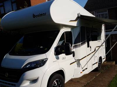 Benimar Mileo 313, 2018, bunk beds centre dinette Motorhome for Sale