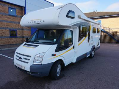 Auto-trail Tribute T-725 6 berth Rear fixed bed motorhome for sale
