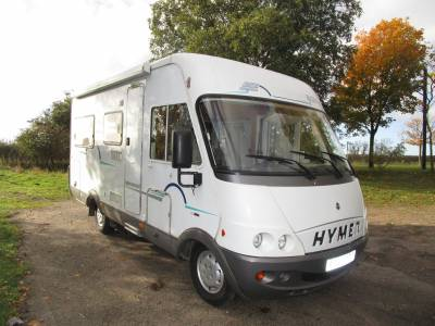Hymer B574 2004 A-Class 2 Berth French Bed Motorhome for Sale
