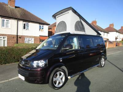 LWB Hillside Leisure Birchover Metallic Blackberry VW Campervan