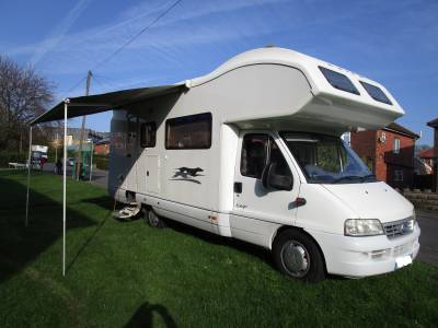 Laika Ecovip 2003 Bunk Beds 7 Berth Motorhome for Sale