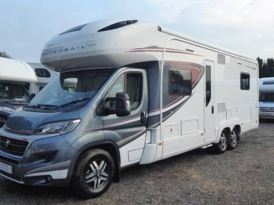 Autotrail Commanche.  2019.  Rear Fixed Island Bed.  6 Berth Motorhome