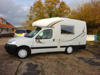 Auto Sleeper Mezan 1997 2 berth camper Peugot Motorhome for Sale