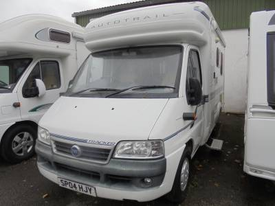 Autotrail Tracker Rear Lounge Motorhome For Sale