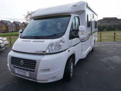 Bessacarr E560 4 berth fixed rear bed motorhome for sale