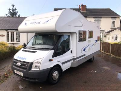 2007 Dethleffs Eurostyle A63 6 Berth Bunk Beds Motorhome For Sale
