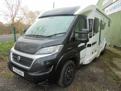 Bessacarr Hi-Style 597 4 Berth Garage Single beds Motorhome For Sale