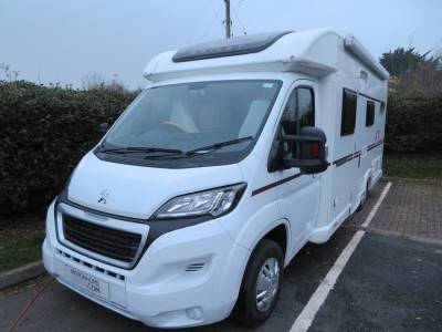 2019 Bailey Advance 74-2, 4 berth, Very Low Mileage