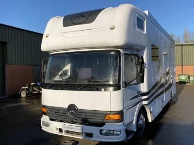 Mercedes 815 Race Truck