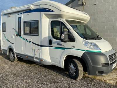 2012 Chausson Welcome Suite Mini motorhome for sale with drop down bed