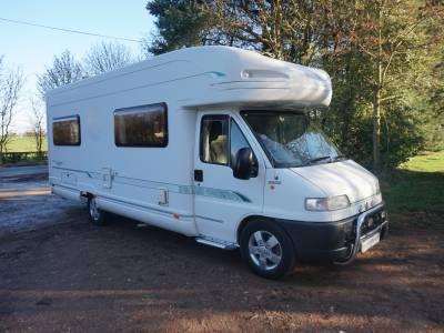 Bessacarr E795 4 berth U Shaped lounge motorhome for sale