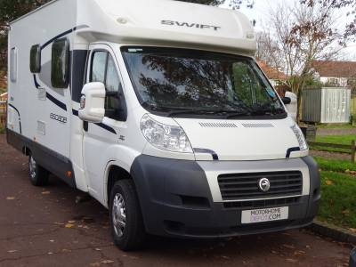 2012 Swift Escape 664, French bed 4 berth 4 seat belts Motorhome for Sale