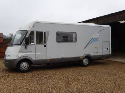 2007 Hymer  B624 A class 6 berth motorhome for sale