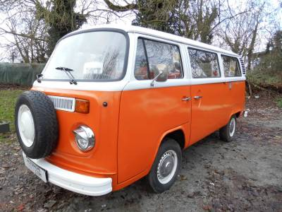 VOLKSWAGEN T2 1980 2 BERTH late bay window