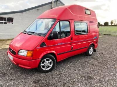 Westfalia Nugget Ford Transit left hand drive 4-berth camper van for sale