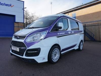 Ford Transit Special Edition M-sport 4 berth Pop Top campervan motorhome for sale