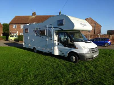 Dethleffs Sunlight  A70 2009 6 Berth Fixed Bed Rear Garage Motorhome For Sale **PRICE REDUCED**