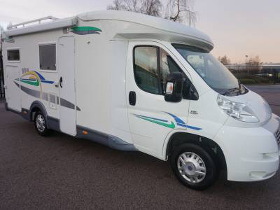 Chausson Welcome 75 Lowline Rear garage, Rear fixed bed 4 berth motorhome for sale