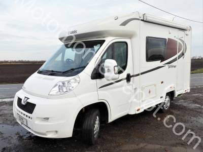 Elddis Autoquest Prestige 115 - 2 Berth, Reversing camera,  Solar panel, Cab air-con, Microwave, Swivel seats