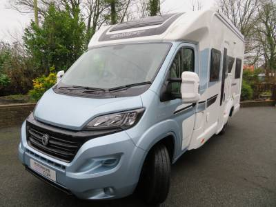 2017 Swift Charisma 664, Low Mileage, 4 Berth, fixed rear bed