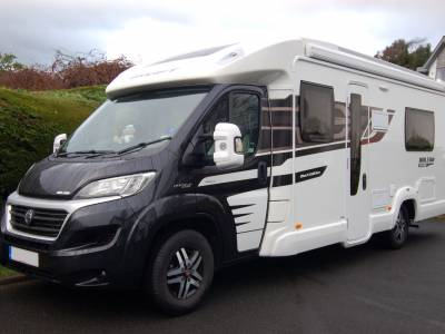 2015 Automatic Swift Bolero 714SB luxury twin bed motorhome