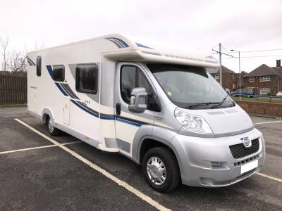 2012 Bailey Approach 745 SE 4 Berth Rear Fixed Bed Motorhome For Sale