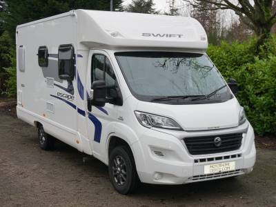 Swift Escape 664 4 berth Rear Fixed Bed motorhome for sale