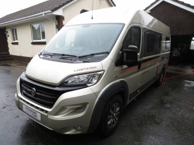 2016 Globecar Campscout, Low Mileage, 3 Berth, 4 Traveling seats