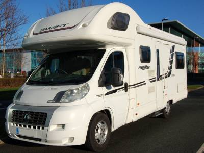 2010 Swift Freestyle 630L 6 berth 6 seatbelt family motorhome