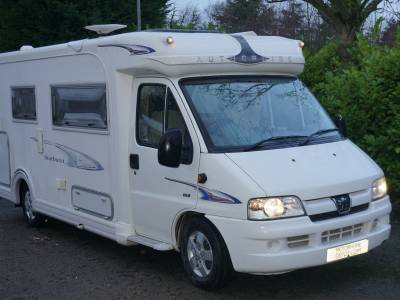 Autocruise Starburst 2 berth End Washroom motorhome for sale