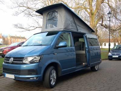 2016 VW T6 LWB 4 Berth campervan