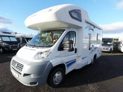 Lunar Champ A521, Hi-profile, 4-Berth, 4-Seatbelts, Over-cab Double Bed, Motorhome for Sale