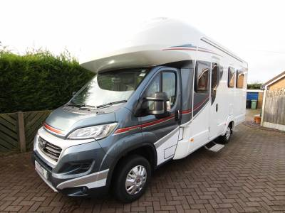 Autotrail Imala 730 4 Berth 4 seatbelts fixed rear island bed motorhome