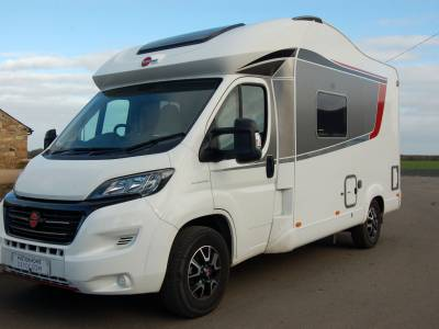 Burstner Ixeo Time IT586 compact crossover motorhome