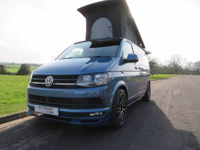 VW T6 Highline Campervan 4 berth, 5 travelling seats, Air-con