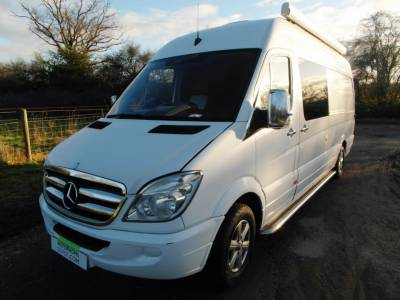 Mercedes Sprinter Race Day Van
