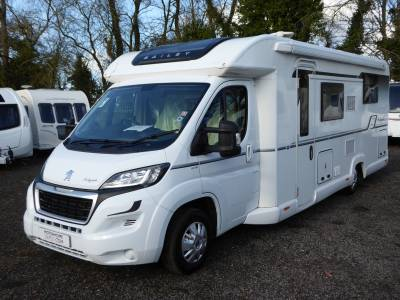 LIMITED OFFER 3 Days Remaining Bailey Autograph 79-4. 2017.  4 Berth Motorhome