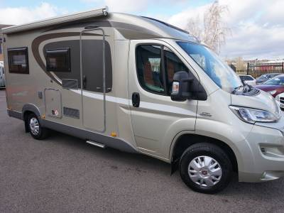 Burstner Brevio T645 4 berth 4 belt Drop Down bed motorhome for sale