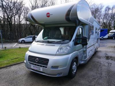 Burstner Argos 747-2 6 berth 6 belts Garage motorhome for sale