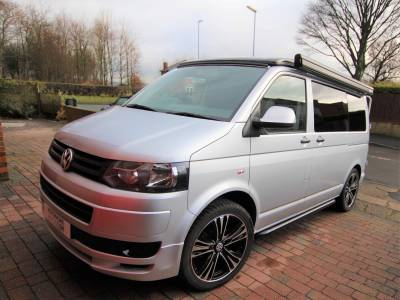 Volkswagen T5 Campervan Conversion, 4 Berth, 5 seat belts