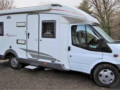 Burstner Nexxo T660 ,4 Berth, 4 seat belt , fixed rear bed Motorhome