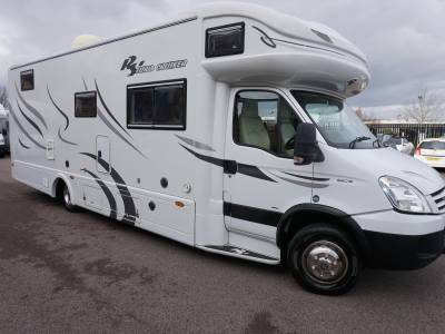 RS Eurocruiser Auto 6 berth Rear Fixed bed, Rear garage RS motorhome for sale