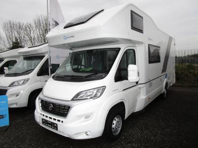 Adria Sun Living A75 DP 6 Berth FIxed Rear Bed over Large Garage Motorhome For Sale