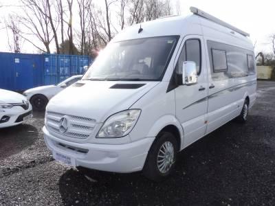 Mercedes Sprinter LWB 4-berth rear lounge campervan for sale