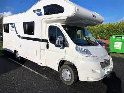 Elddis Autoquest 180 Spinney Envoy 6 berth rear lounge coachbuilt motorhome